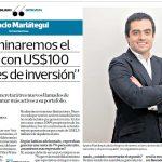 «Terminaremos el 2019 con US$100 millones de inversión»